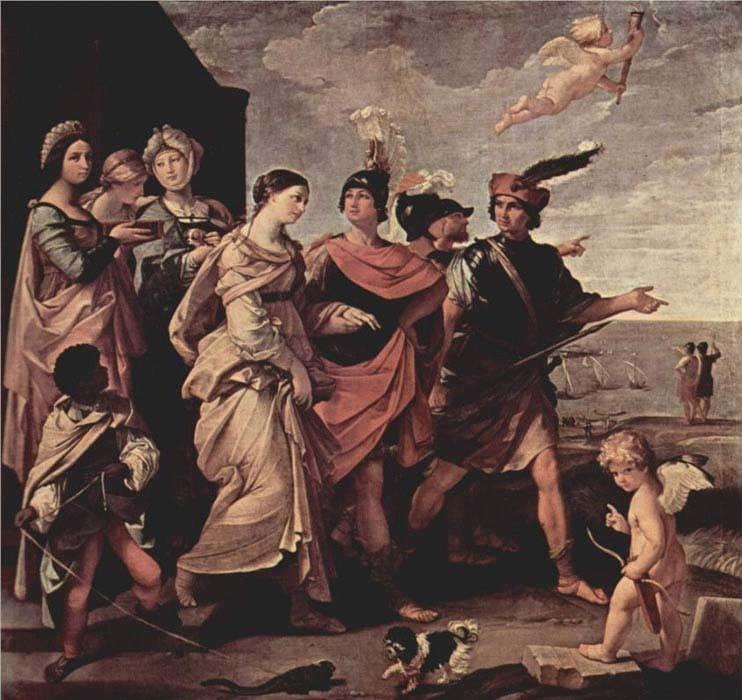 Паріс викрадає Єлену. Троянський цикл міфів. М. А. Кун. Легенди і міфи Давньої Греції