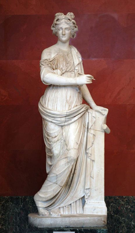 Кліо — муза історії. Міфологія Давньої Греції