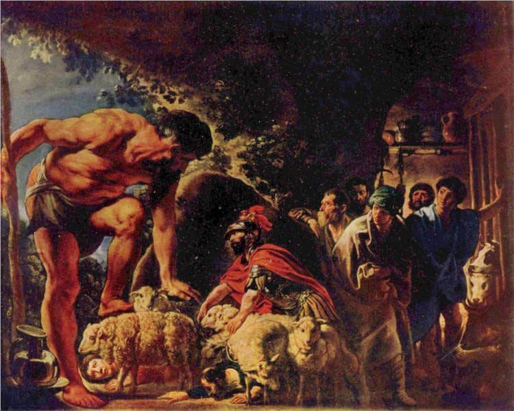 Поліфем. Міфологія Давньої Греції