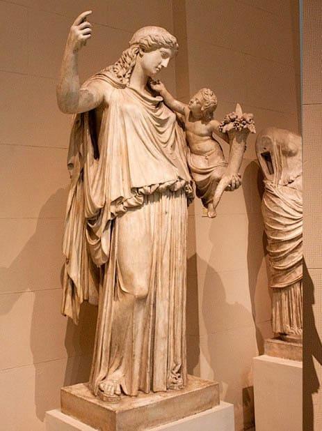 Грецький бог Плутос — Бог багатства і достатку. Міфологія Давньої Греції