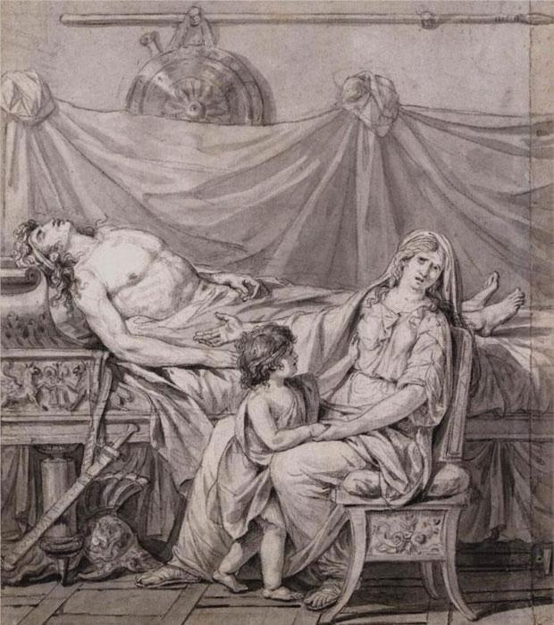 Горе Андромахи (Жак Луї Давид, 1782) (Горе Андромахи (Жак Луи Давид, 1782)), картинка Андромахи, статуя Андромахи фото, статуя Андромахи, фото Андромахи, статуя Андромахи фото, фото Андромахи, Андромахи статуя, статуя Андромахи, статуя Андромахи фото, Изображения Андромахи, Зображення Андромахи