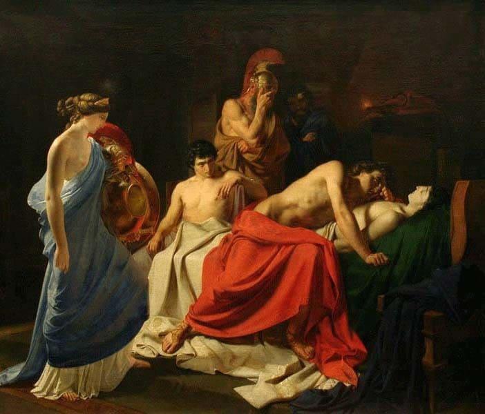 Бій за тіло Патрокла. Троянський цикл міфів. М. А. Кун. Легенди і міфи Давньої Греції