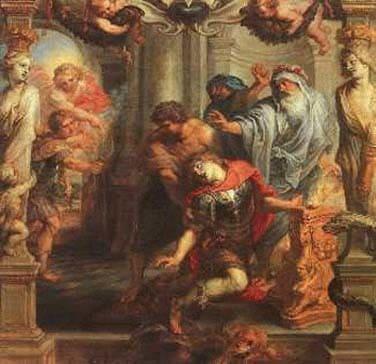 Смерть Ахілла. Троянський цикл міфів. М. А. Кун. Легенди і міфи Давньої Греції
