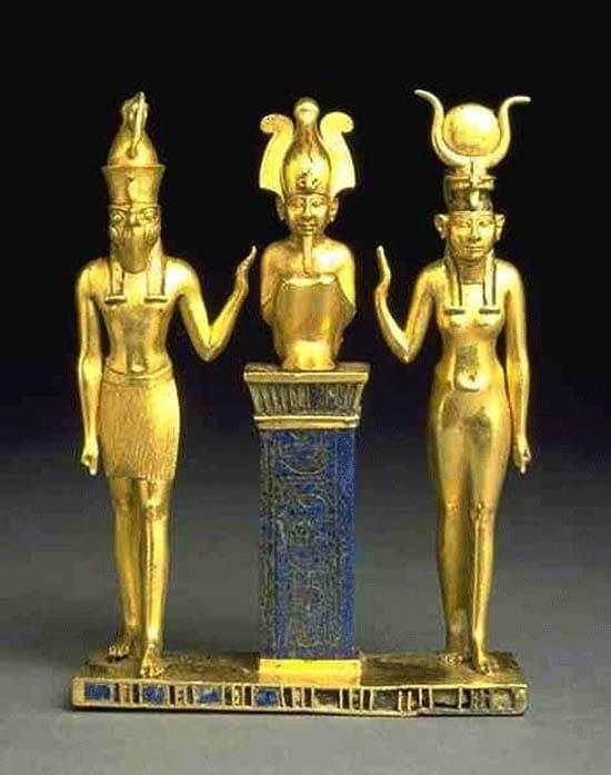 Староєгипетська Трійця. Гор, Осіріс, Ісіда. Міфологія Давнього Єгипту