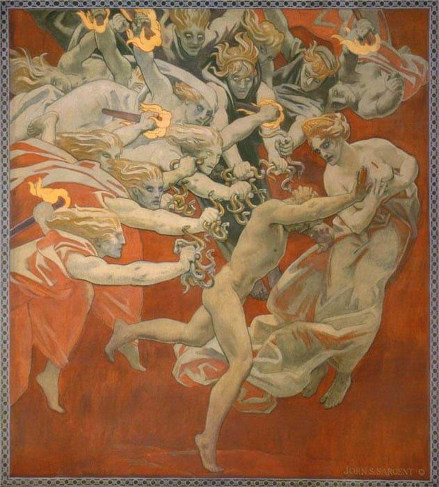Фурії. Міфологія Давньої Греції