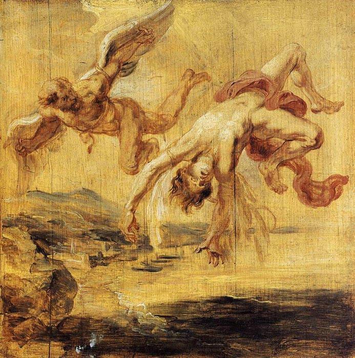 Ікар. Міфологія Давньої Греції